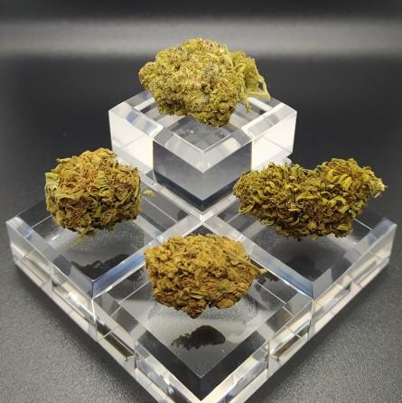 la tribu émeraude cbd cristal flower